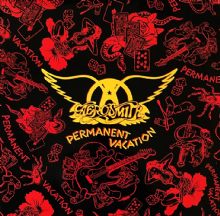 Aerosmith - Permanent Vacation (LP) (VG/VG)
